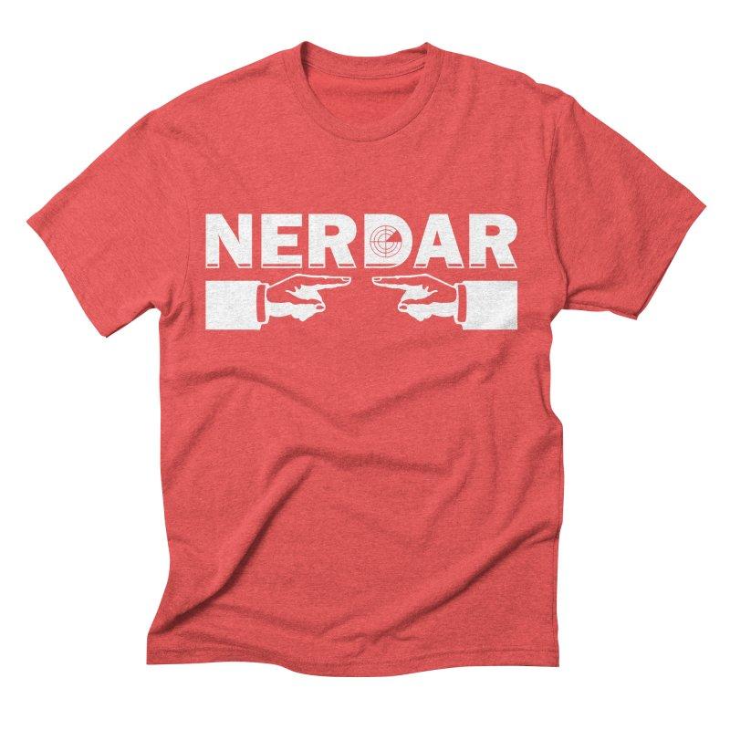 N E R D A R Men's Triblend T-shirt by The SHIZIRT