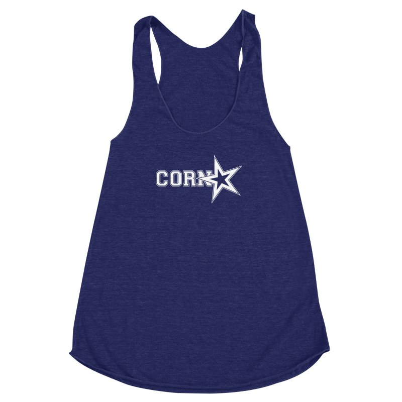 CORN STAR Women's Racerback Triblend Tank by The SHIZIRT