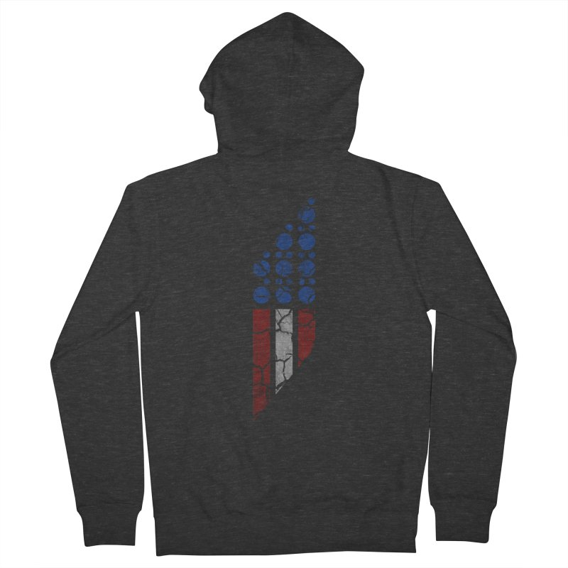 PARALLEL SERIES: #MURICA Men's Zip-Up Hoody by The SHIZIRT