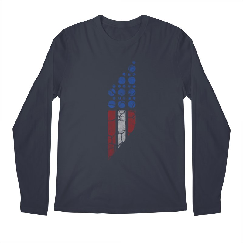 PARALLEL SERIES: #MURICA Men's Longsleeve T-Shirt by The SHIZIRT