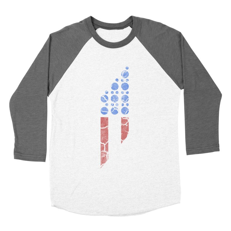 PARALLEL SERIES: #MURICA Women's Baseball Triblend T-Shirt by The SHIZIRT