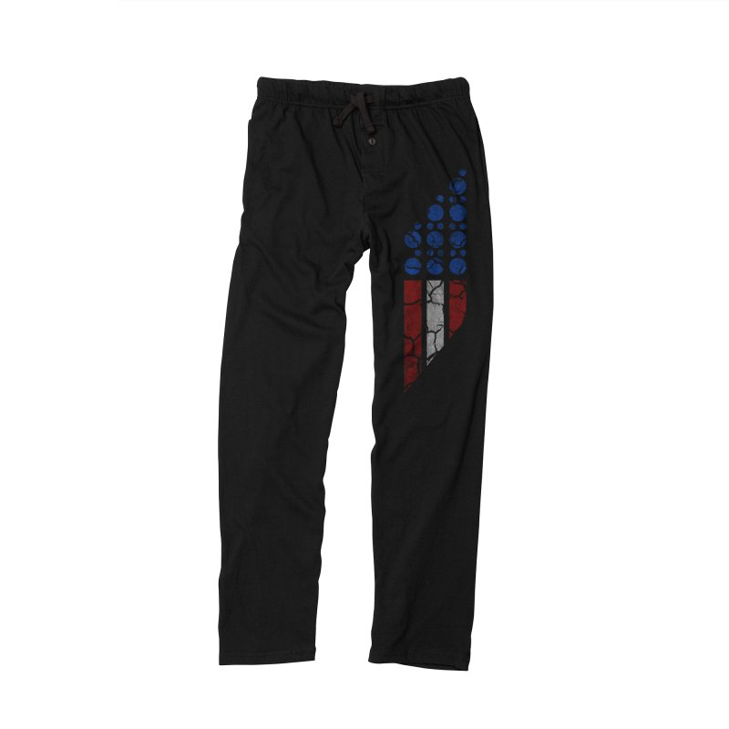PARALLEL SERIES: #MURICA Men's Lounge Pants by The SHIZIRT