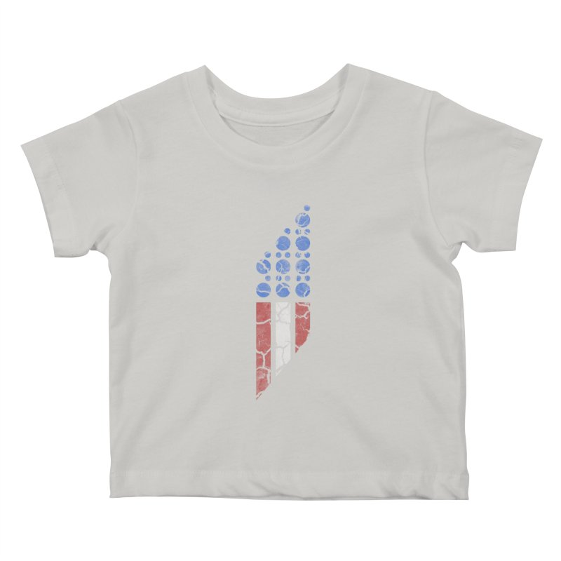 PARALLEL SERIES: #MURICA Kids Baby T-Shirt by The SHIZIRT