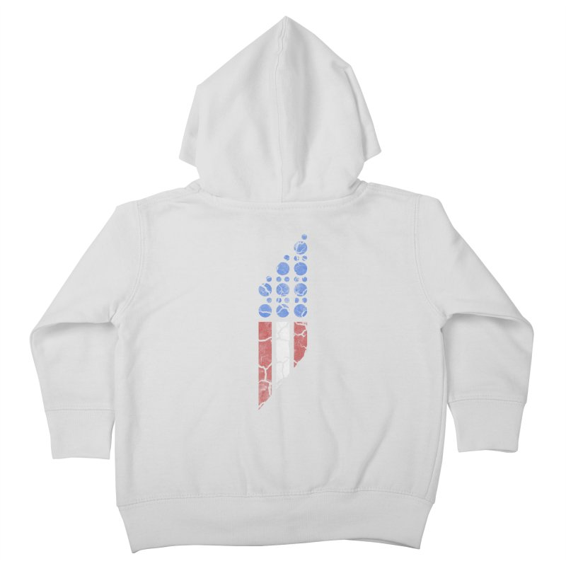 PARALLEL SERIES: #MURICA Kids Toddler Zip-Up Hoody by The SHIZIRT