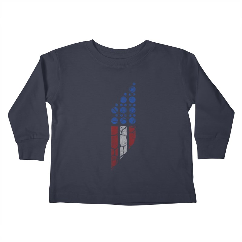 PARALLEL SERIES: #MURICA Kids Toddler Longsleeve T-Shirt by The SHIZIRT