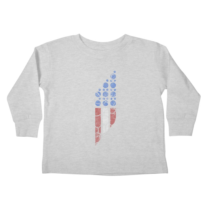 PARALLEL SERIES: #MURICA Kids Toddler Longsleeve T-Shirt by The SHIZIRT