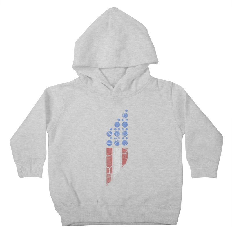 PARALLEL SERIES: #MURICA Kids Toddler Pullover Hoody by The SHIZIRT