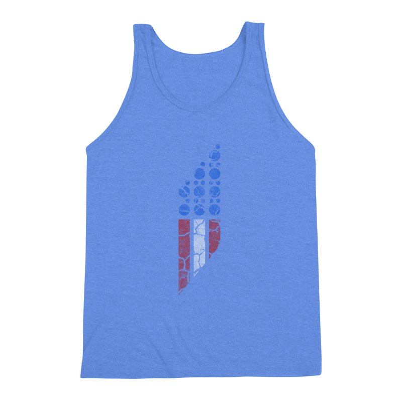 PARALLEL SERIES: #MURICA Men's Triblend Tank by The SHIZIRT