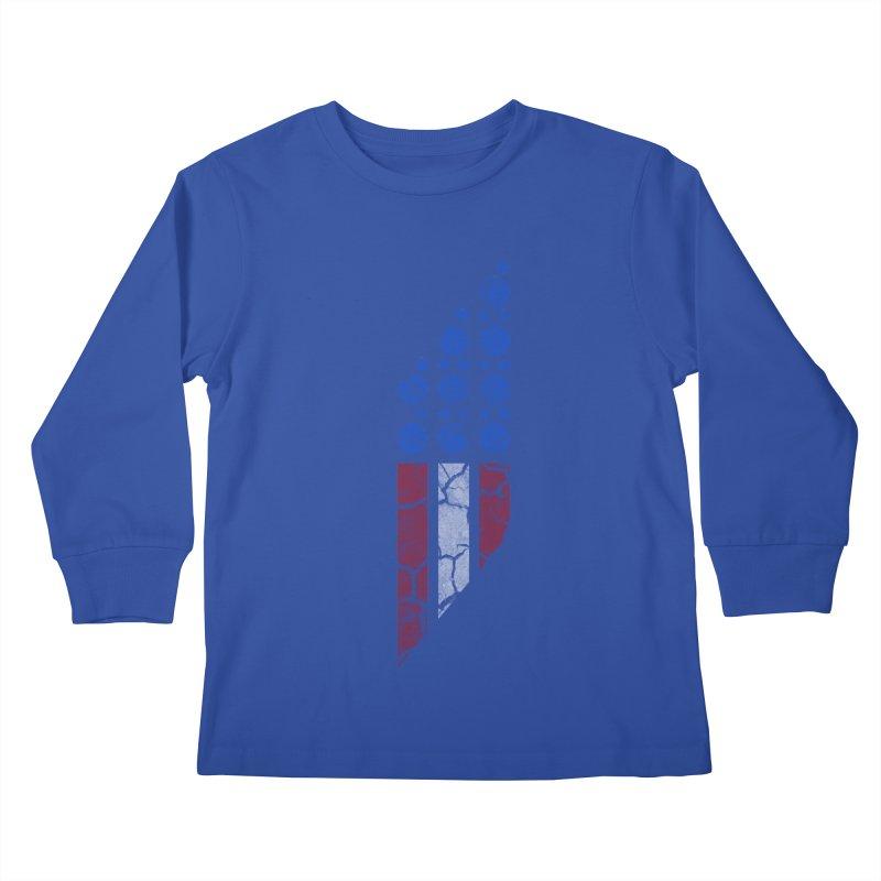 PARALLEL SERIES: #MURICA Kids Longsleeve T-Shirt by The SHIZIRT