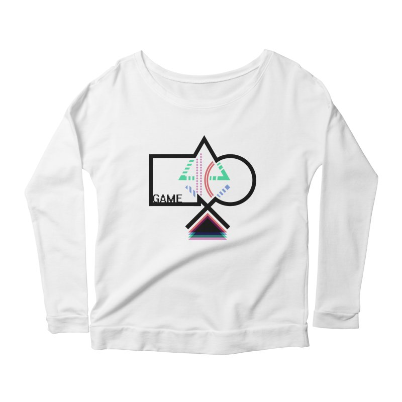 GAME SERIES: Buttons Women's Longsleeve Scoopneck  by The SHIZIRT
