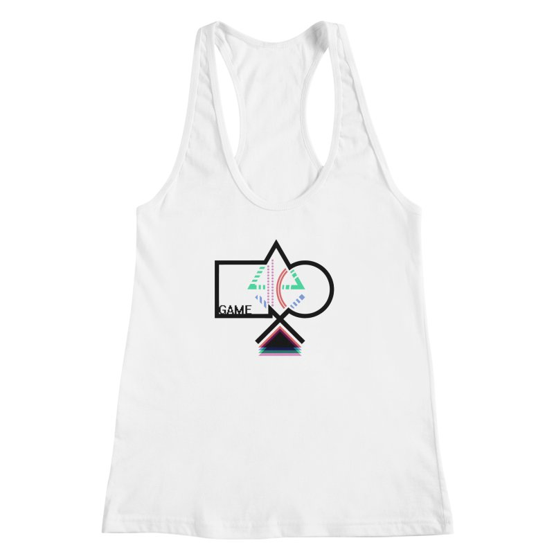 GAME SERIES: Buttons Women's Racerback Tank by The SHIZIRT