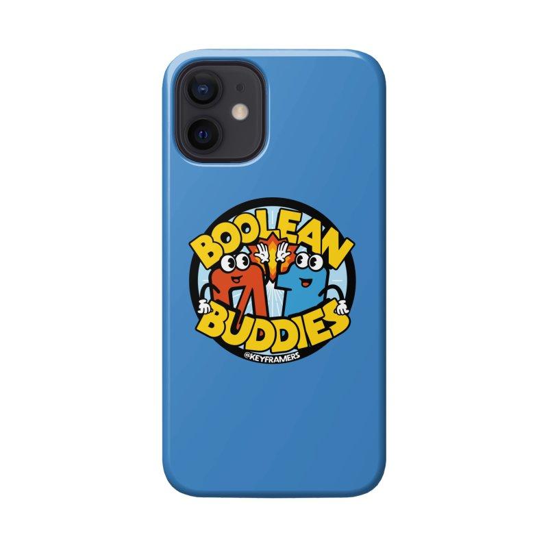 Boolean Buddies Accessories Phone Case by @keyframers Web Developer Merch