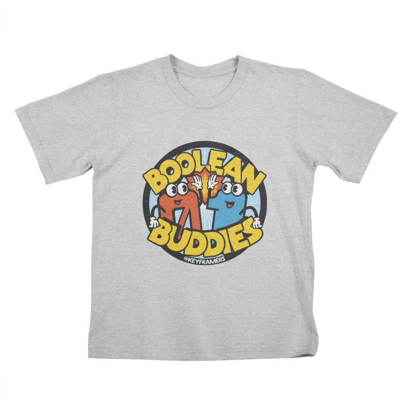 Boolean Buddies Kids T-Shirt by @keyframers Web Developer Merch