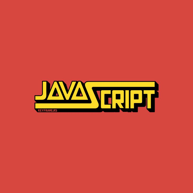 Retro JavaScript Men's T-Shirt by @keyframers Web Developer Merch