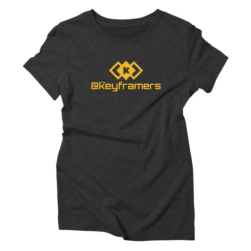 @keyframers Women's Triblend T-Shirt by @keyframers Web Developer Merch