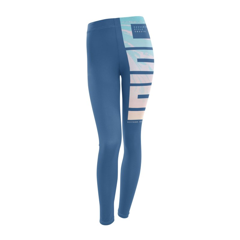 CSS Lines Women's Leggings Bottoms by @keyframers Web Developer Merch