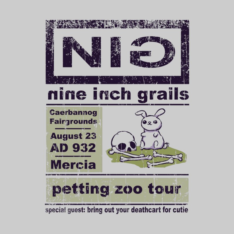 nine inch grails Men's T-Shirt by kg07's Artist Shop