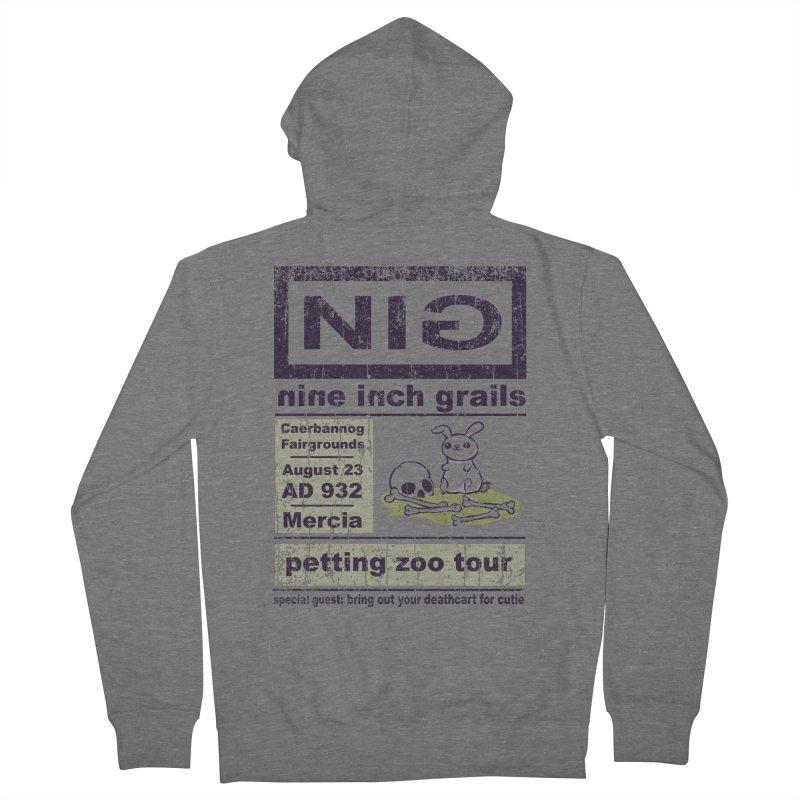 nine inch grails Men's Zip-Up Hoody by kg07's Artist Shop