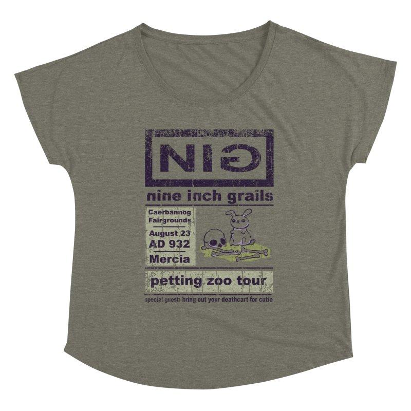 nine inch grails Women's Scoop Neck by kg07's Artist Shop