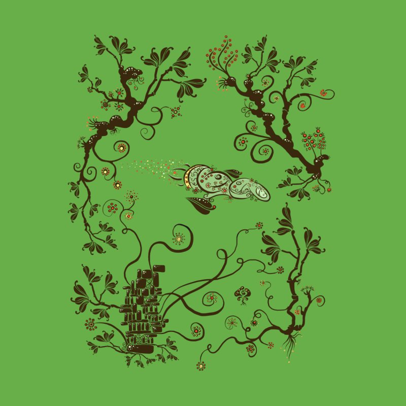 Firefly in Eden Women's T-Shirt by kg07's Artist Shop