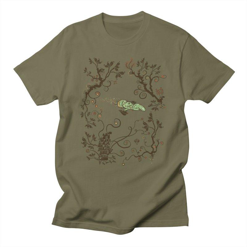 Firefly in Eden Men's T-Shirt by kg07's Artist Shop