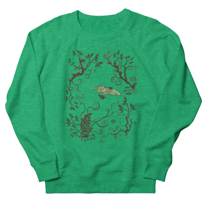 Firefly in Eden Women's Sweatshirt by kg07's Artist Shop