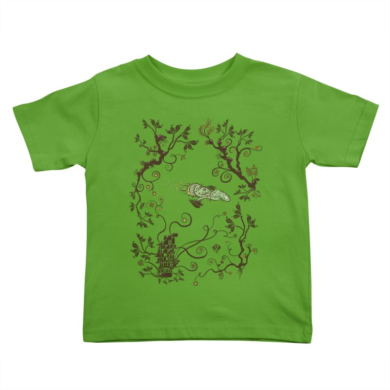 Firefly in Eden Kids Toddler T-Shirt by kg07's Artist Shop