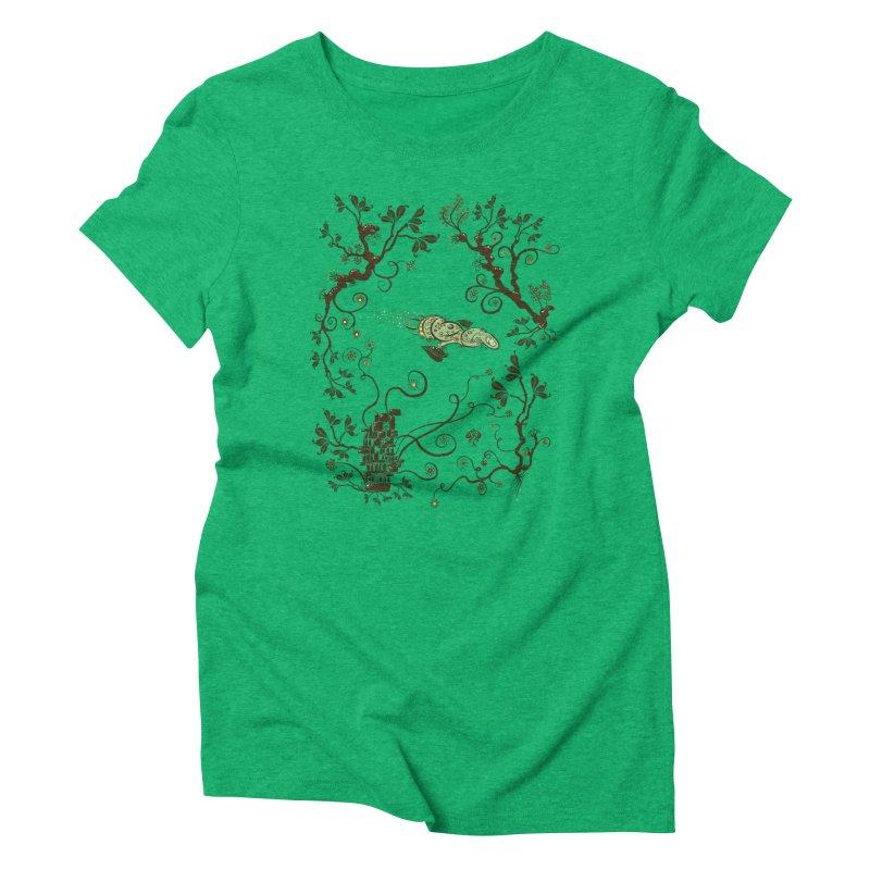 Firefly in Eden Women's T-Shirt by kg07's Artist Shop