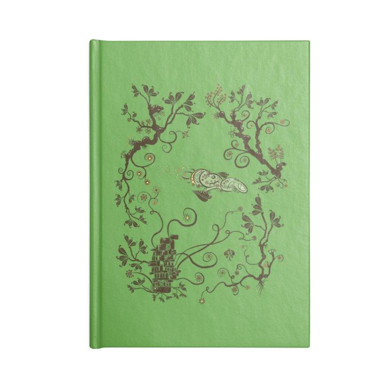 Firefly in Eden Accessories Notebook by kg07's Artist Shop