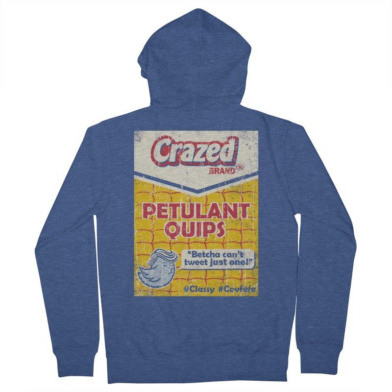 Petulant Quips Women's Zip-Up Hoody by kg07's Artist Shop