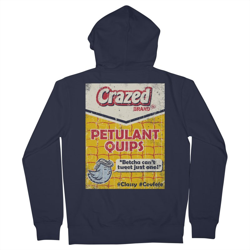 Petulant Quips Women's Zip-Up Hoody by kg07's Artist Shop
