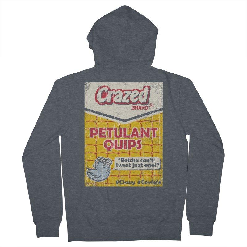 Petulant Quips Men's Zip-Up Hoody by kg07's Artist Shop