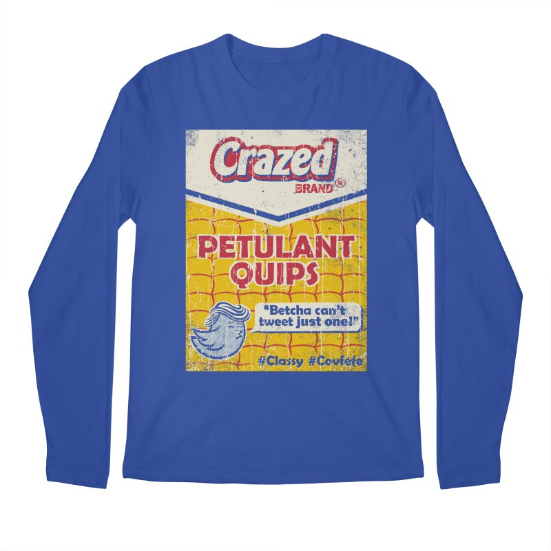 Petulant Quips Men's Longsleeve T-Shirt by kg07's Artist Shop