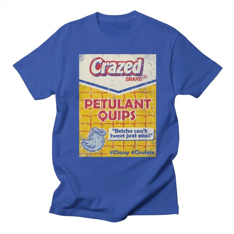 Petulant Quips Men's T-Shirt by kg07's Artist Shop