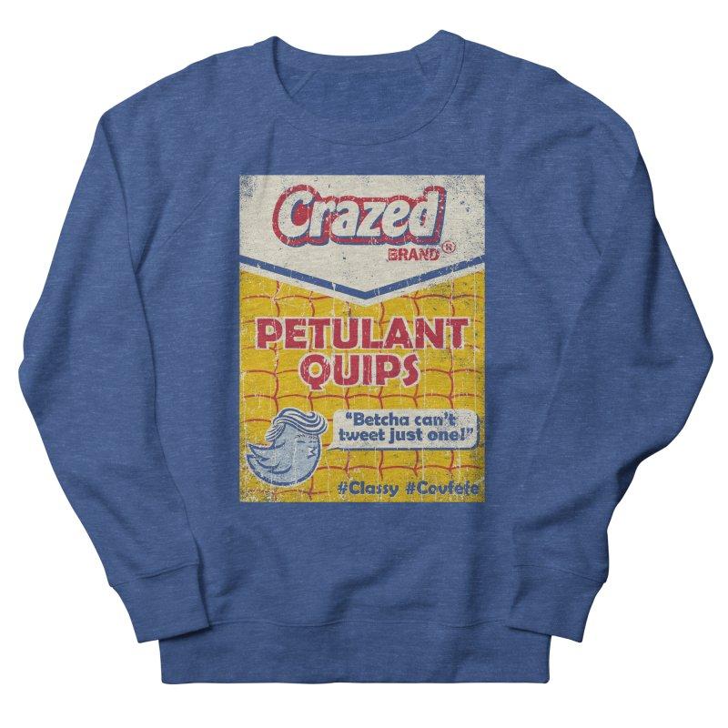 Petulant Quips Men's Sweatshirt by kg07's Artist Shop