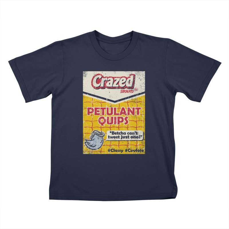 Petulant Quips Kids T-Shirt by kg07's Artist Shop