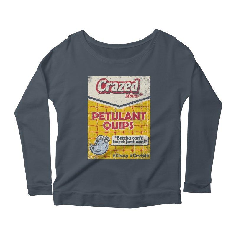 Petulant Quips Women's Longsleeve T-Shirt by kg07's Artist Shop