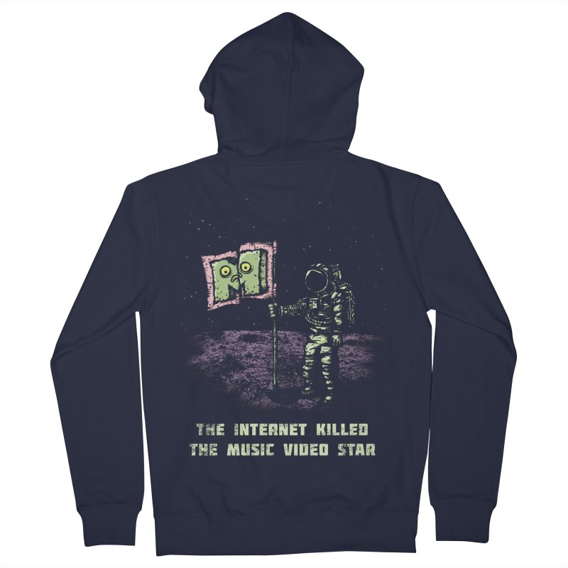 The Internet Killed the Video Star Women's Zip-Up Hoody by kg07's Artist Shop
