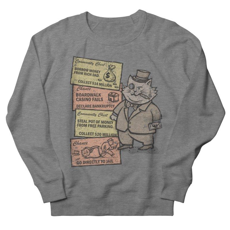 Fat Cat Women's Sweatshirt by kg07's Artist Shop