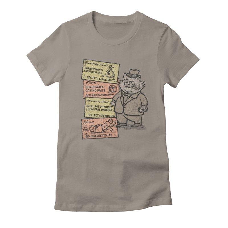 Fat Cat Women's T-Shirt by kg07's Artist Shop