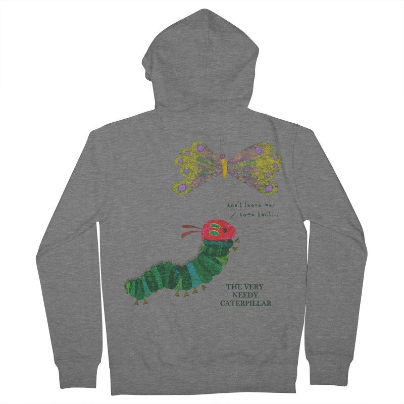 The Very Needy Caterpillar Women's Zip-Up Hoody by kg07's Artist Shop