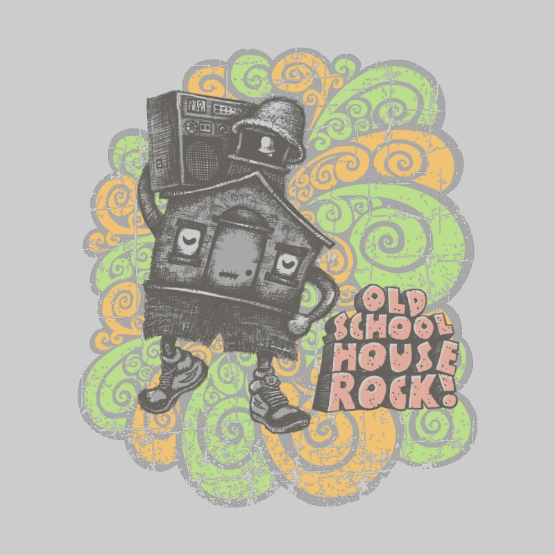 Old School House Rock Women's T-Shirt by kg07's Artist Shop