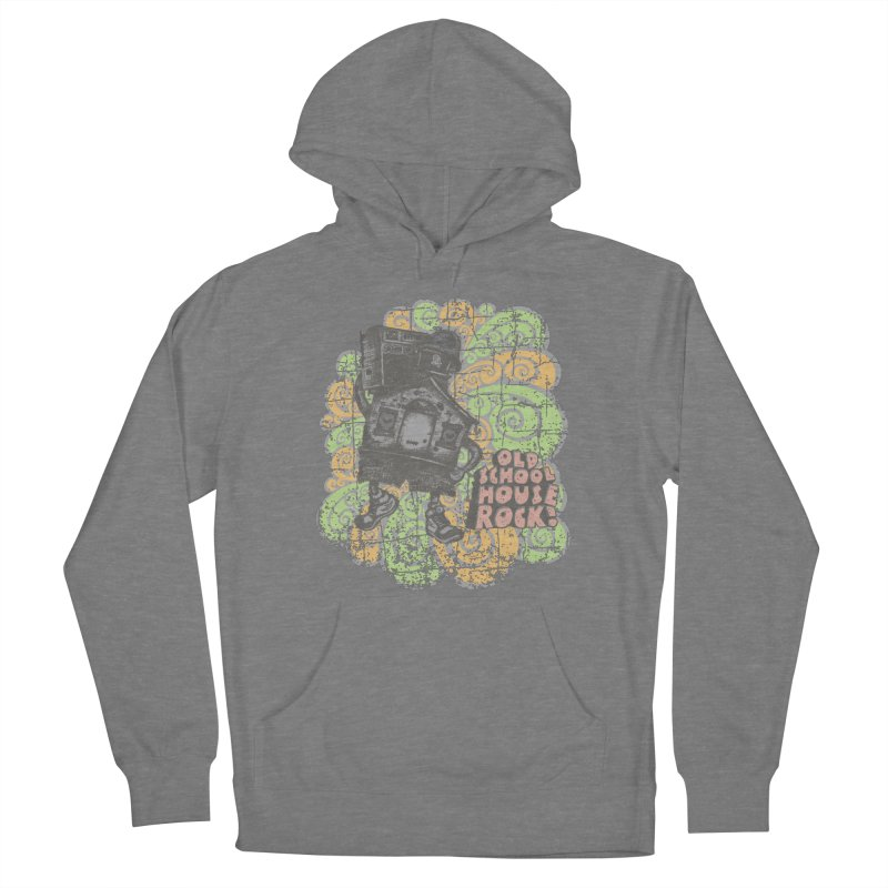 Old School House Rock Women's Pullover Hoody by kg07's Artist Shop