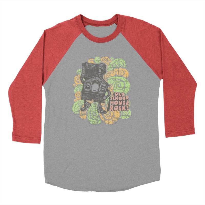 Old School House Rock Women's Longsleeve T-Shirt by kg07's Artist Shop