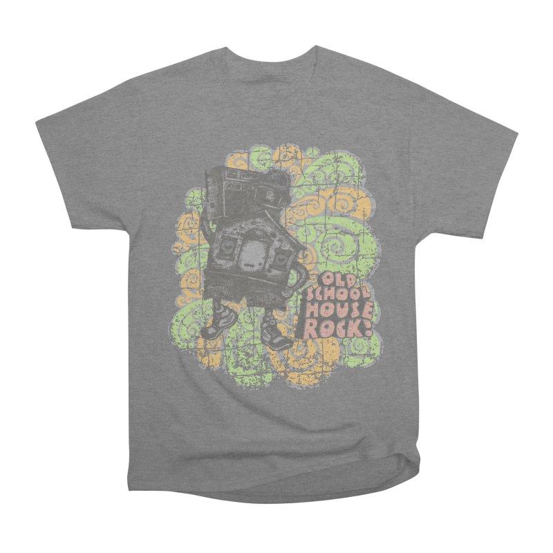 Old School House Rock Women's T-Shirt by kg07's Artist Shop
