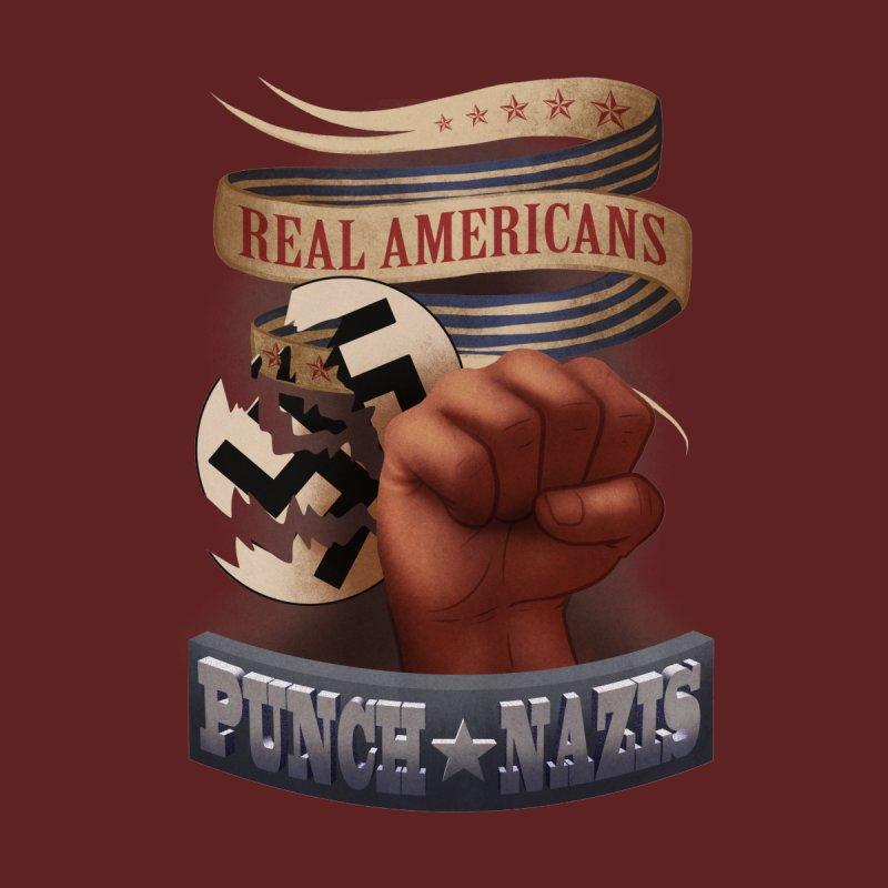 Real Americans Men's T-Shirt by Kiernan Geary Art