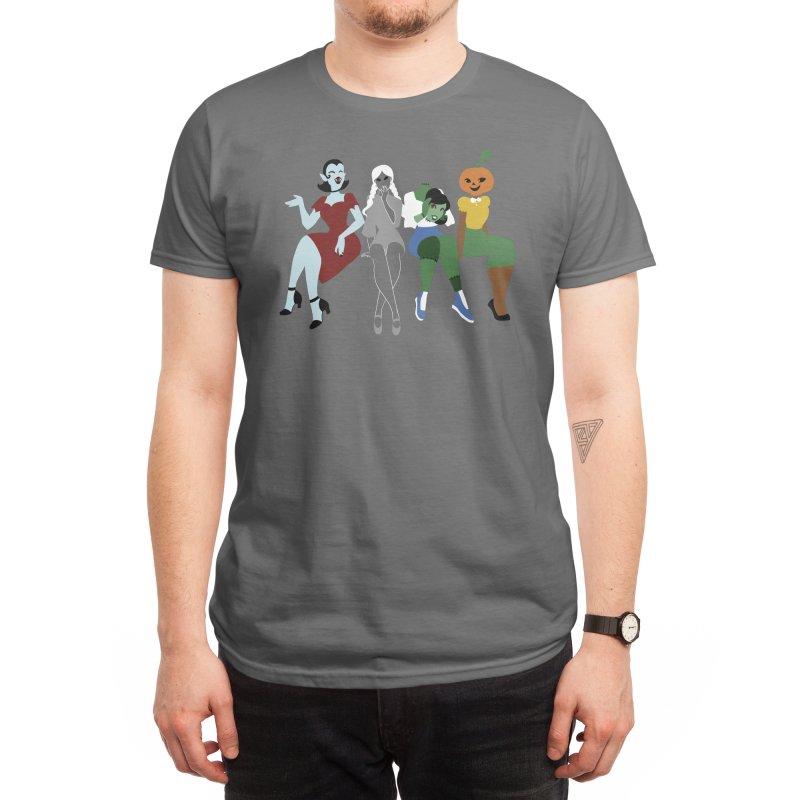 Spooky Babes Men's T-Shirt by Kiernan Geary Art