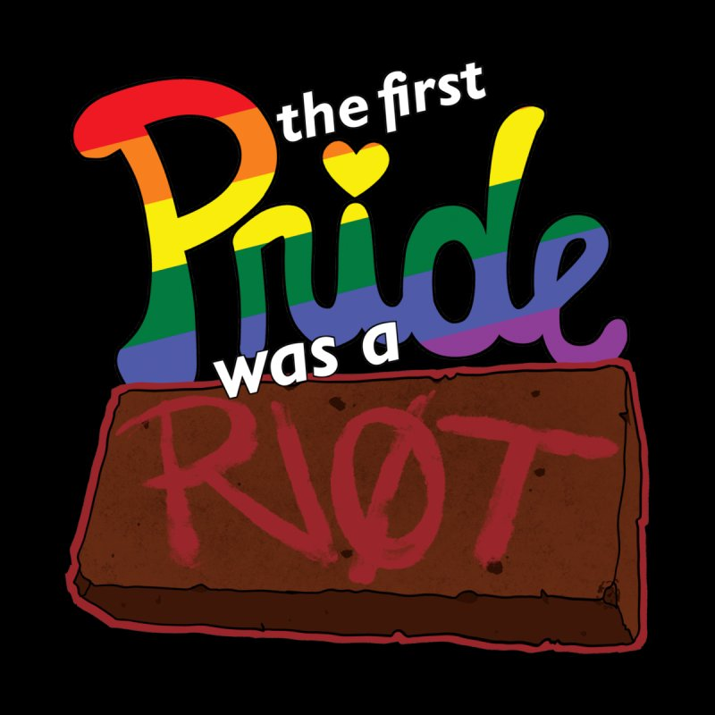 The First Pride was a Riot Men's T-Shirt by Kiernan Geary Art