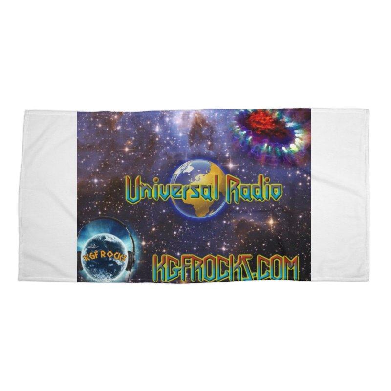 Universal Radio2 Accessories Beach Towel by kgfrocks's Artist Shop