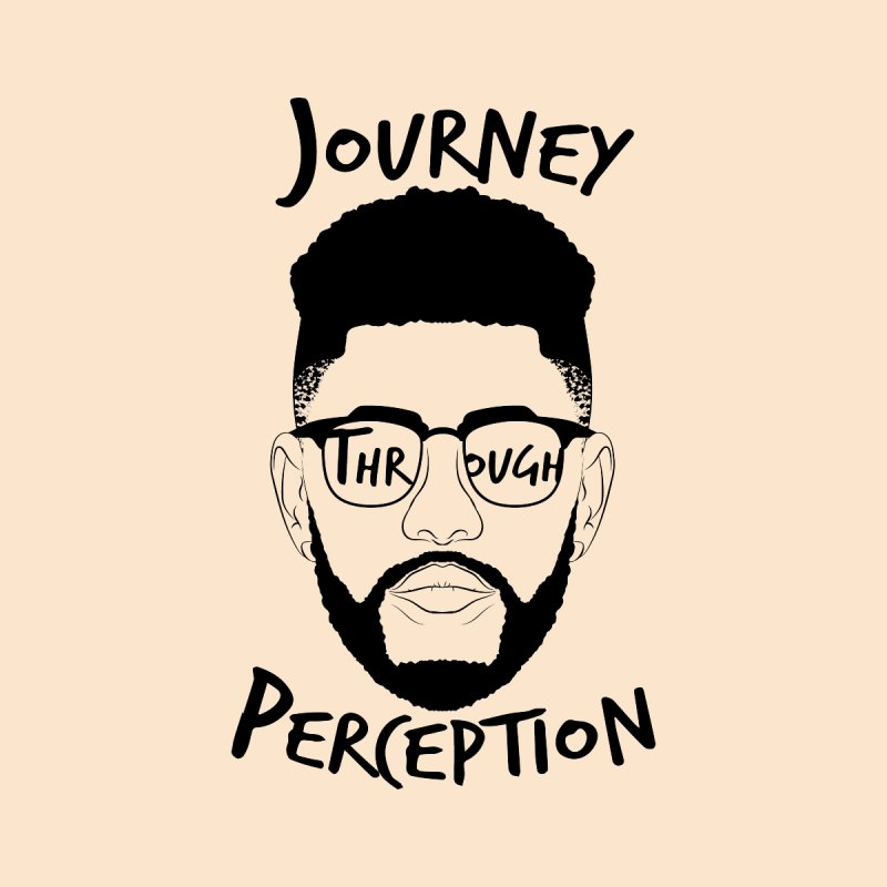 Journey Through Perception (Khaliq Vision) Men's T-Shirt by khaliqsim's Artist Shop